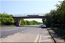 SU5894 : Queenford Bridge over the Dorchester bypass by Steve Daniels