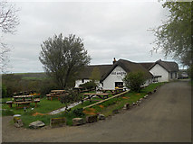 SS2317 : The Old Smithy Inn at Darracott by Row17