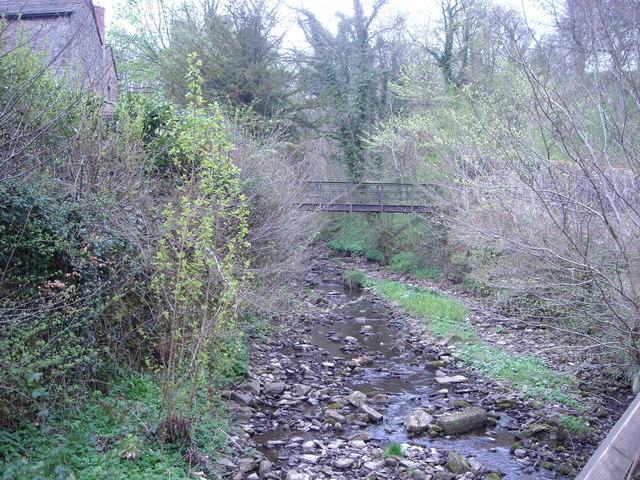 Iron Bridge over Eller Beck, Skipton.