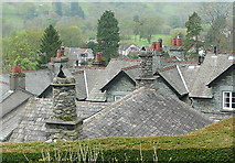 NY3704 : Rooftops of Ambleside by Graham Horn