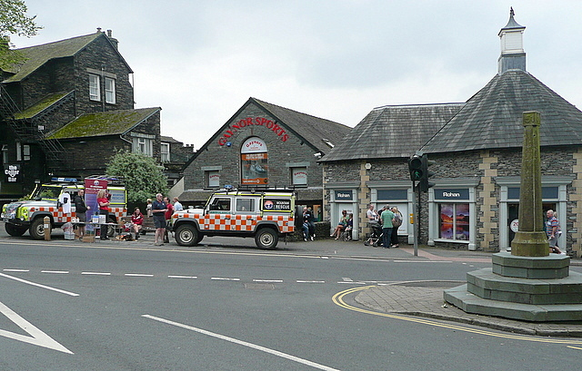 Fundraising in Ambleside