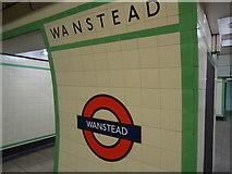 TQ4088 : Wanstead underground station by Stacey Harris