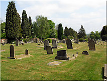 TQ3355 : Caterham Cemetery by Dr Neil Clifton