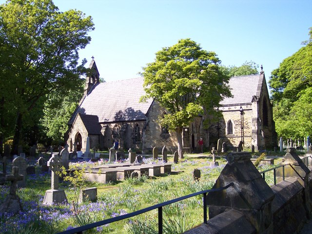 Bluebells at St.Lukes Parish Church