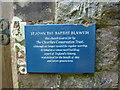 SD2888 : St John the Baptist, Blawith, sign by Alexander P Kapp