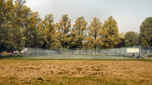 Tennis Court, Preston Park