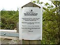SO5205 : Beacon Hill Heathland Restoration Project Information Sign by Claire Seyler