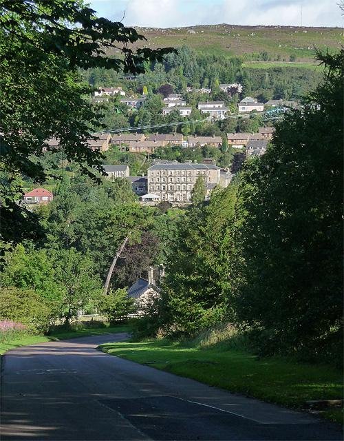View of Rothbury
