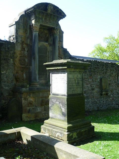 Grave of Alexander Henderson, Greyfriars Kirkyard