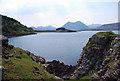 NG5437 : Coastal Scene by Glen Breaden