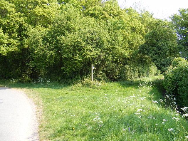 Footpath to Trust Farm & Chapel Road