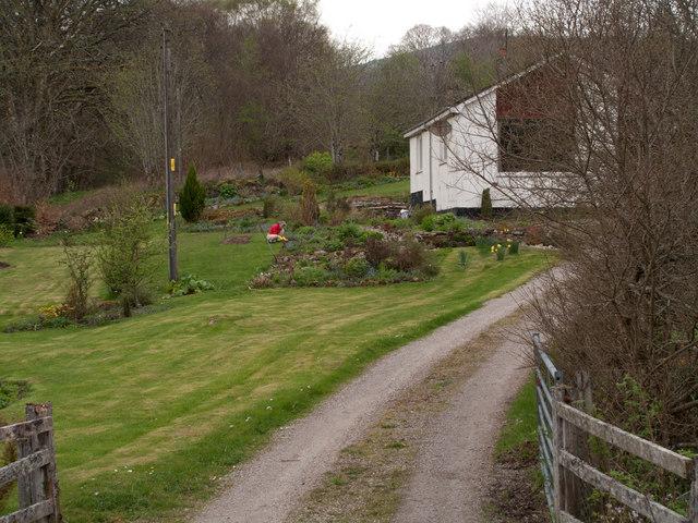 Garden of house in Scotstown