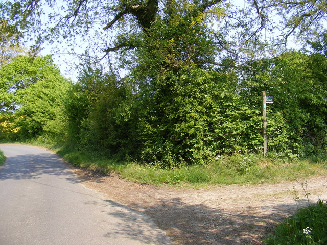 Chapel Lane & Footpath to Glemham Road