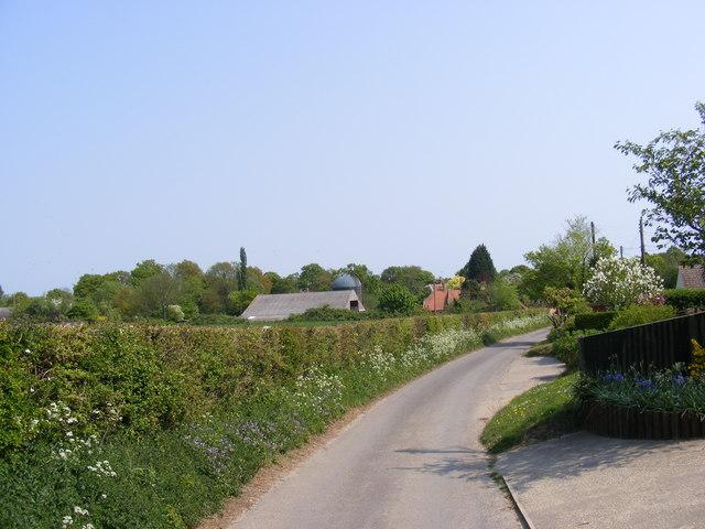 Holdans Lane, Sweffling