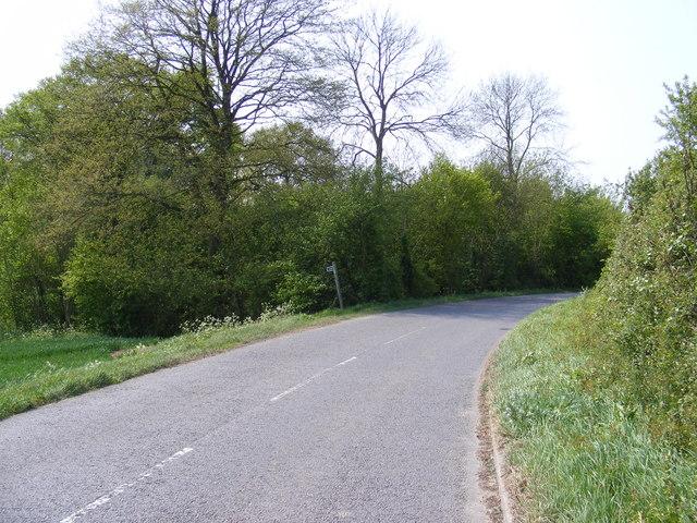 B1119 Saxmundham Road