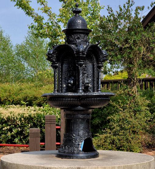 The Adair fountain, Ballymena (1)