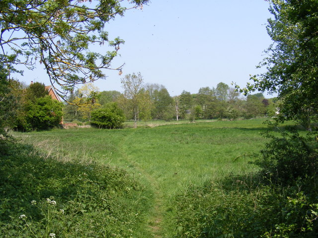 Footpath to Bruisyard Road