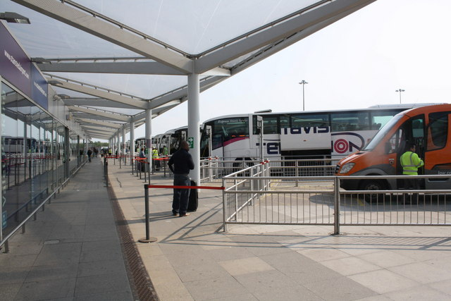 Stansted Airport coach and bus station