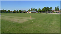 SJ8487 : The Pavilion, Gatley Cricket Club by Geoff Royle