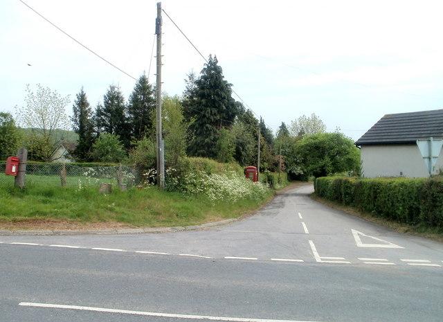 Road to Kingcoed from Raglan