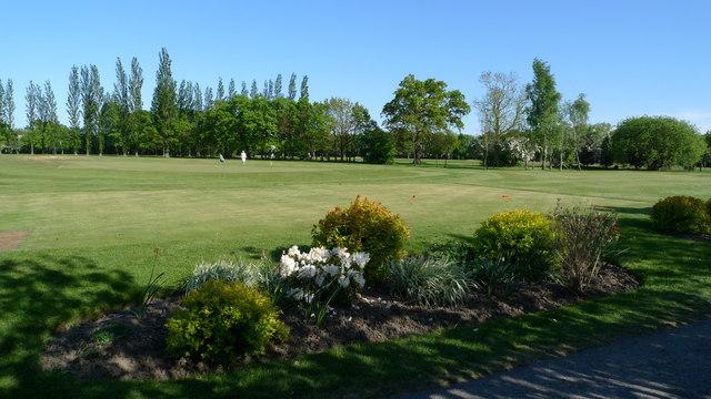 A corner of Gatley's golf course
