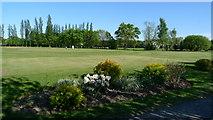SJ8487 : A corner of Gatley's golf course by Geoff Royle