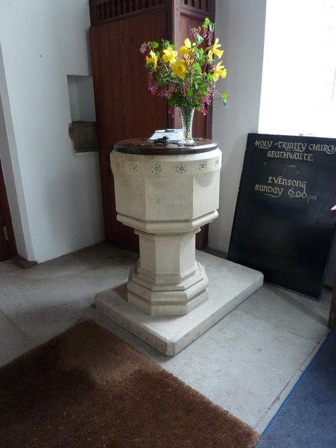 Holy Trinity Church, Seathwaite, Font