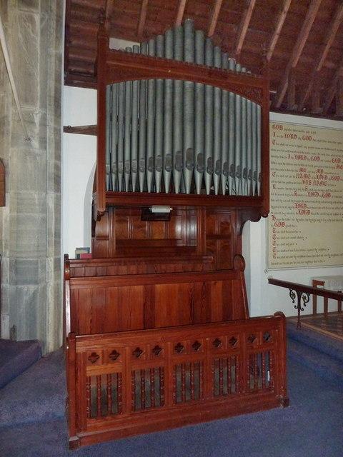 Holy Trinity Church, Seathwaite, Organ