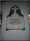 SD2296 : Holy Trinity Church, Seathwaite, Memorial by Alexander P Kapp