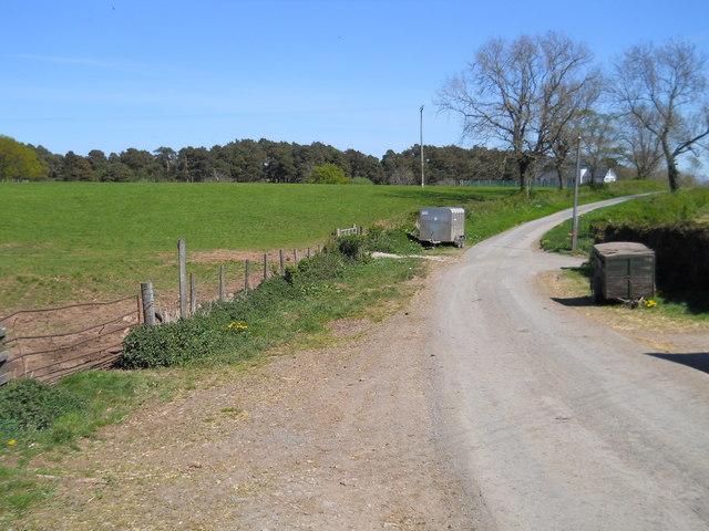 Road at Low Moor