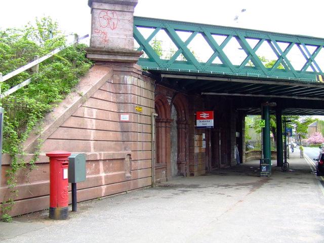 Dumbarton East railway station