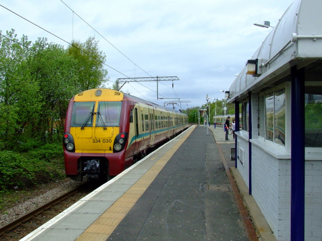 Dumbarton East railway station
