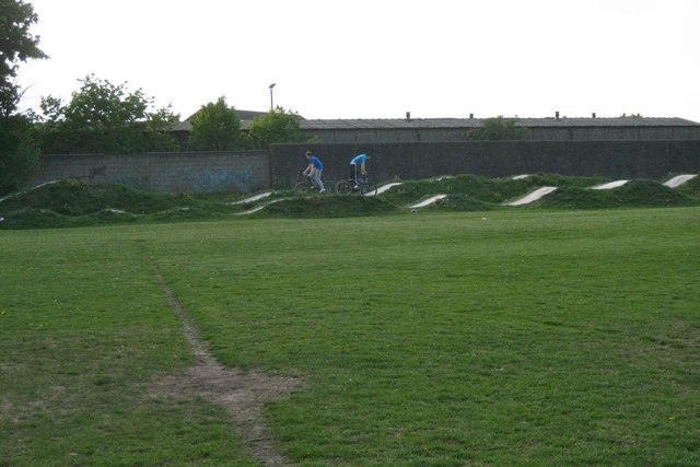BMX track at The Tip