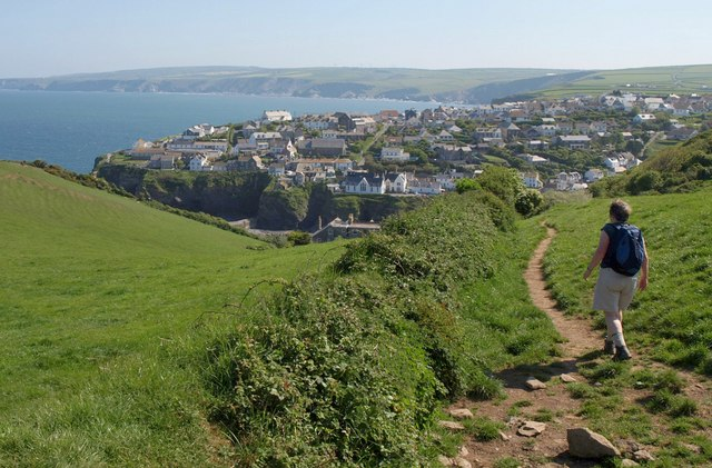 Path to Port Isaac