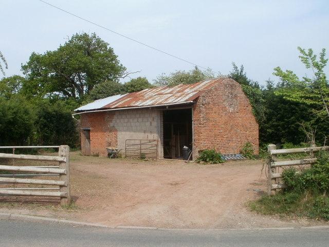 Farm building, Monmouth Road near Dingestow