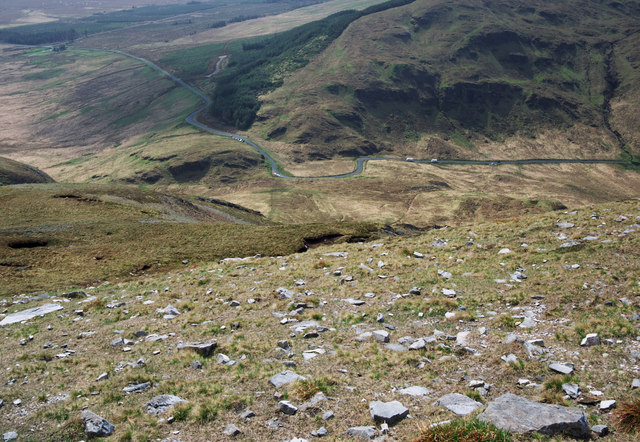 South descent on Muckish