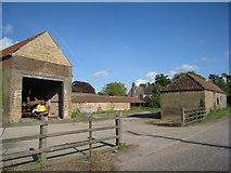 TA0912 : Farm buildings at Croxton by Jonathan Thacker