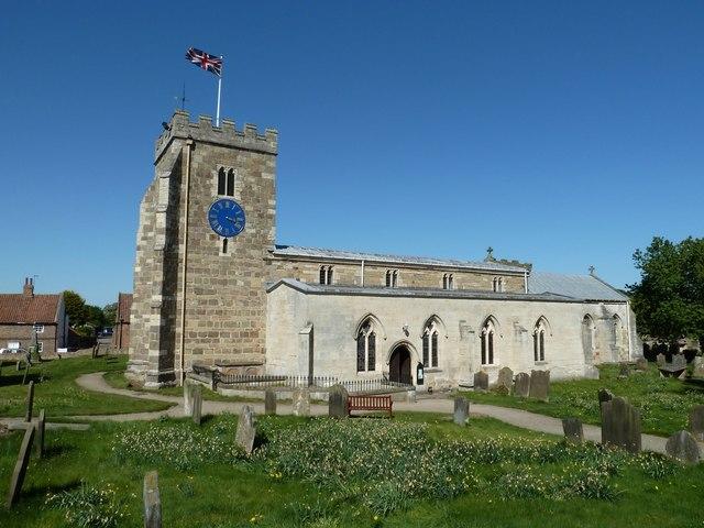 St Andrews Church, Aldborough