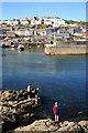 SX0144 : Mevagissey Harbour by Chris Allen