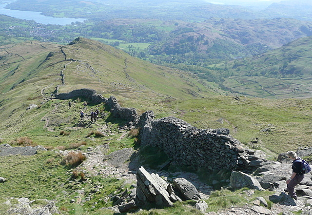 Descent from High Pike