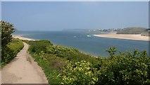 SW9276 : Camel estuary by Derek Harper