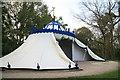 TQ0960 : Turkish Tent, Painshill Park by Chris Allen