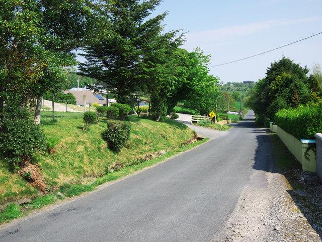 Road at Doocashel Glebe
