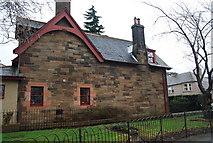 NT2273 : Gatehouse, Roseburn Public Park by N Chadwick