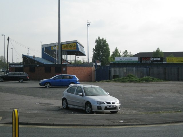 Northeast corner, Macclesfield Town football ground