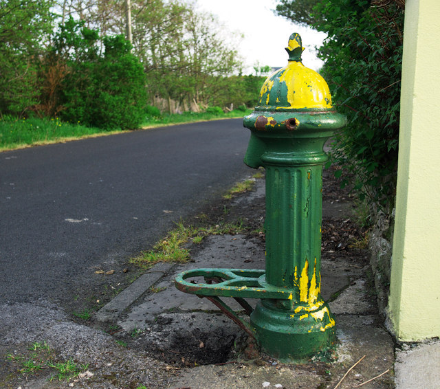 Old water pump, Dunfanaghy