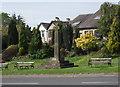 SD6837 : War Memorial at Hurst Green by Philip Platt