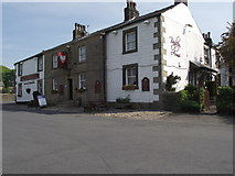 SD6838 : The Bayley Arms at Hurst Green by Philip Platt