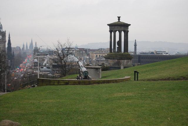 Dugald Stewart Monument, Calton Hill