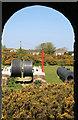 SW6540 : Dolcoath Mine, Wheal Harriett - winder from pumping engine house by Chris Allen